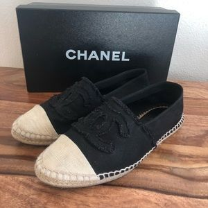 First edition Chanel espadrilles